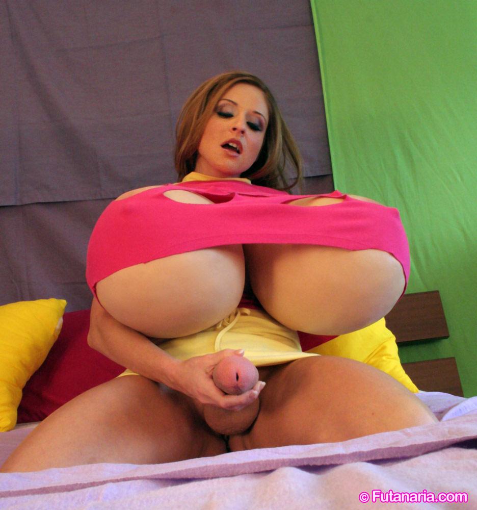 Gigantic tits huge cock